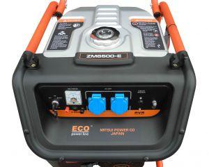 Бензиновый генератор  Mitsui Eco ZM6500E  5 кВт