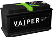 Автомобильный аккумулятор VAIPER  6CT-90.0 L