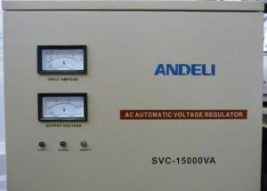 Стабилизатор напряжения механический ANDELI SVC - 15000 Va