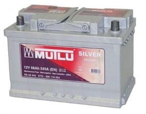 Аккумулятор автомобильный MUTLU CALCIUM SILVER 66 A/ч
