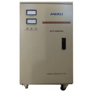 Стабилизатор напряжения механический ANDELI SVC - 20000 Va