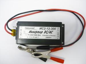 Преобразователь напряжения ИС2-12-300 инвертор DC-AC