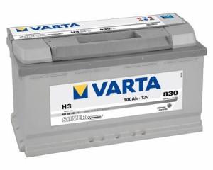 Аккумулятор автомобильный VARTA SILVER DINAMIC 100  H3 (600 402 083)