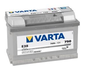 Аккумулятор автомобильный VARTA SILVER DYNAMIC 74 Е38 (574 402 075)