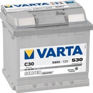 Аккумулятор автомобильный VARTA SILVER DINAMIC 54  C30 ( 554 400 053)