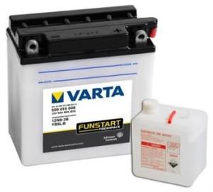 Аккумулятор для мотоцикла  VARTA FUNSTART FRESHPACK 9 А/ч ОП