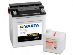 Аккумулятор для мотоцикла  VARTA FUNSTART FRESHPACK 14 А/ч ОП