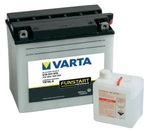 Аккумулятор для мотоцикла  VARTA FUNSTART FRESHPACK 19 А/ч ОП