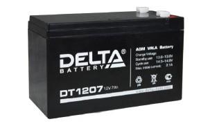 Аккумулятор Delta DT1207
