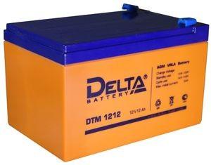 Аккумулятор Delta DTM1212