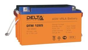 Аккумулятор Delta DTM1265