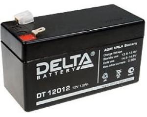 Аккумулятор Delta DT12012