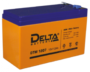 Аккумулятор Delta DTM1207