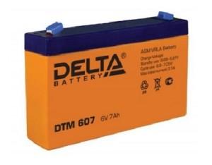 Аккумулятор Delta DTM607