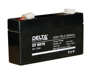 Аккумулятор Delta DT6015