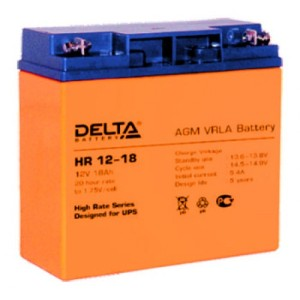 Аккумулятор Delta HR12-18