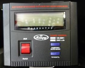 Стабилизатор релейный Кварц SAVR-500VA LCD