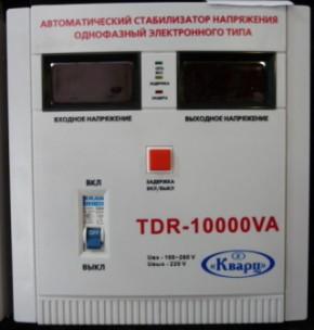 Стабилизатор релейный Кварц TDR-10000VA