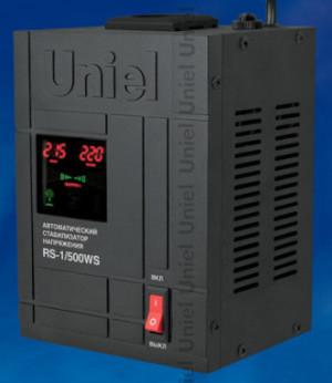 Стабилизатор напряжения Uniel RS-1/500WS настенный