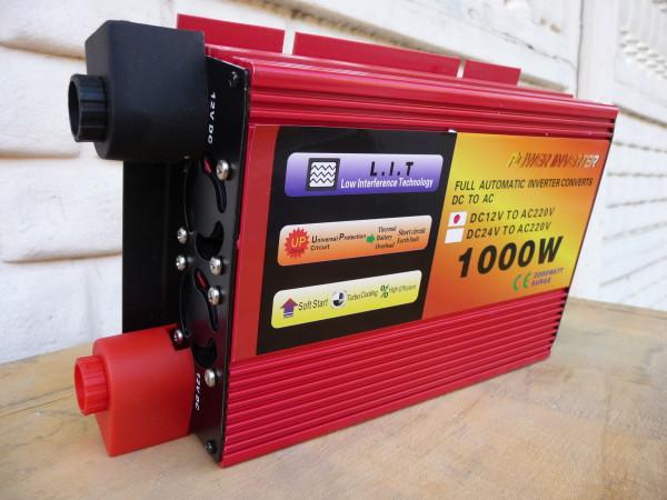 Red Energy преобразователь напряжения (инвертор) 1000W/12V