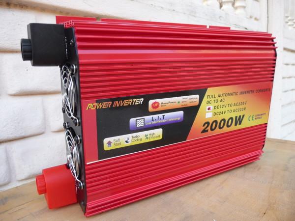 Red Energy преобразователь напряжения (инвертор) 2000W/12V