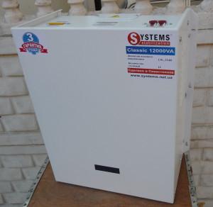 Стабилизатор электронный однофазный SYSTEMS Classic 20000 VA ЦЕНА 64000 рублей