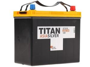 Аккумулятор автомобильный TITAN ASIA Silver 47.1/0 400A