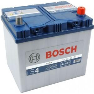 Аккумулятор автомобильный  BOSCH Asia 60 А/ч (S4 024) о/п