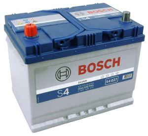 Аккумулятор автомобильный  BOSCH Asia 70 А/ч (S4 027) п/п
