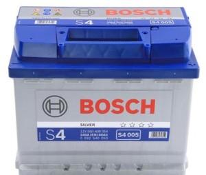 Аккумулятор автомобильный BOSCH 60 А/ч (S4 005) о/п