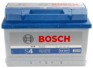 Аккумулятор автомобильный  BOSCH 72 А/ч (S4 007) о/п