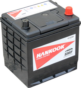 Аккумулятор автомобильный HANKOOK 6СТ-50 R+(50D20L)