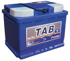 Аккумулятор автомобильный TAB POLAR 6CT-60 R+  uni