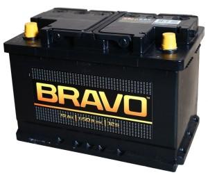 Аккумулятор автомобильный BRAVO 6CT-74   650А