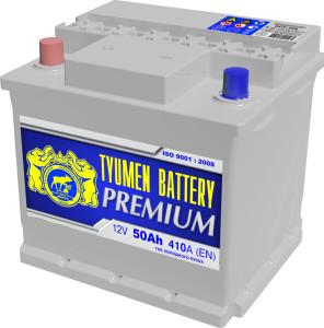 Аккумулятор автомобильный Тюмень PREMIUM 6CT-50L R+