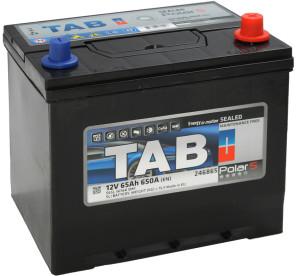 Аккумулятор автомобильный TAB POLAR S 6CT-65 R+ яп. стандарт