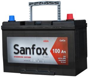 Аккумулятор автомобильный Sanfox 6CT-100   800А