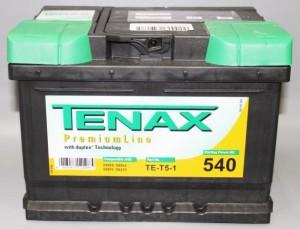 Аккумулятор автомобильный TENAX PREMIUM 60 А/ч TE-T5-1  о/п низкий