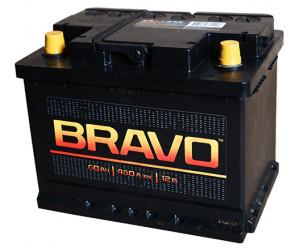 Аккумулятор автомобильный BRAVO 6CT-60   480А