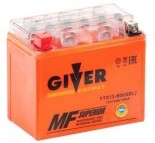 Аккумулятор GIVER ENERGY 12V/12Ач (YTX12-BS) GEL