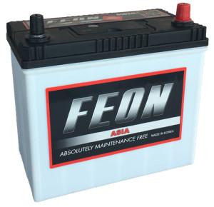 Аккумулятор FEON ASIA  6ст-55 (о.п.) 480А  яп. ст. тонк. кл.