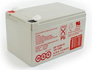 Аккумулятор WBR GP 12120 F2