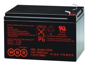 Аккумулятор WBR HRL 1234 W