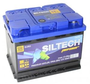 Аккумулятор автомобильный SILTECH POWER 6СТ-60 VLR  590